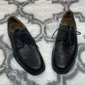 Johnston & Murphy Black Dress Shoes 12 M
